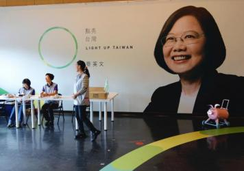 Eric Chu, presidential candidate for Taiwan's ruling Kuomintang, is trailing Tsai Ing-wen by double digits.