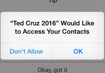 Ted Cruz supporter Linda Stickle has acquired more than 12,000 points on the campaign's app.
