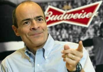 """""""Our combination with SABMiller is about creating the first truly global beer company and bringing more choices to beer drinkers in markets outside of the U.S.,"""" says Carlos Brito, CEO of AB Inbev, seen here last year."""