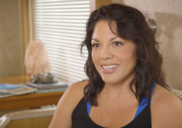 Sara Ramirez stars in ABC's <em>Grey's Anatomy </em>as Dr. Callie Torres.
