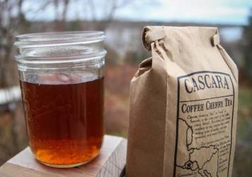 "Cascara is made by brewing dried coffee cherries, which typically would have otherwise ended up as compost. ""We have been throwing away this perfectly good coffee fruit for a long time, and there's no real reason for it, because it tastes delicious,"" says Peter Giuliano, of the Specialty Coffee Association of America."
