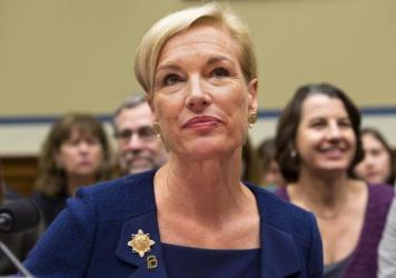 "Planned Parenthood Federation of America President Cecile Richards listens while testifying during a Sept. 29 House panel hearing on ""Planned Parenthood's Taxpayer Funding."""