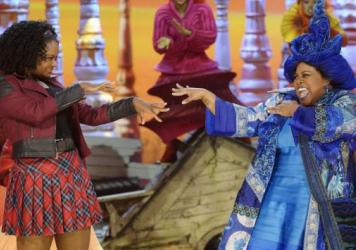 Shanice Williams and Amber Riley were two of the stars of NBC's <em>The Wiz Live!</em>