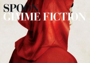 The cover art for Spoon's <em>Gimme Fiction</em> depicts a mysterious figure based on Red Riding Hood.