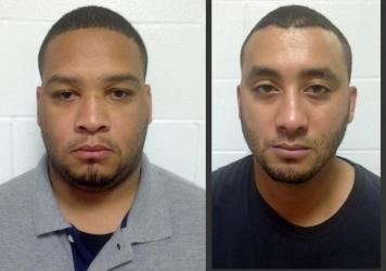 City Marshals Derrick Stafford (left) and Norris Greenhouse Jr. were indicted on charges of second-degree murder in the Nov. 3 fatal shooting of Jeremy Mardis, a six-year-old boy with autism, in Marksville, La.