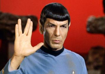 Leonard Nimoy played Mr. Spock in <em>Star Trek: The Original Series — </em>a role that defined his career. Nimoy originally resisted being conflated with the character, but he later came to embrace the iconic role. Nimoy died this year at 83.