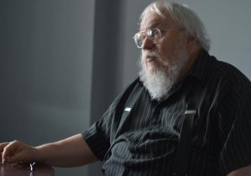 """George R. R. Martin answers questions before a game between the Hudson Valley Renegades and the Staten Island Yankees — briefly renamed the Staten Island Direwolves for their """"Game of Throne"""" night in August. Now, four months later, Martin has some bad"""