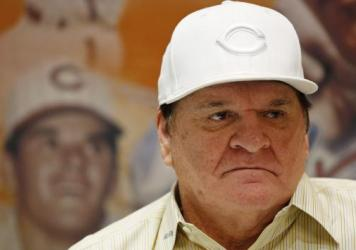 Pete Rose appears at an autograph signing event last month in Las Vegas. Baseball Commissioner Rob Manfred rejected Rose's plea for reinstatement, citing Rose's continued gambling and evidence that he bet on games when he was playing for the Cincinnati Reds. Without reinstatement, Rose can't be elected to the Hall of Fame.