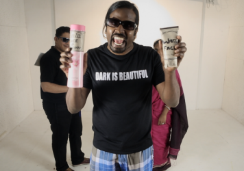 "Wilbur Sargunaraj sings about shadism in his new video, ""Mirror Mirror."""