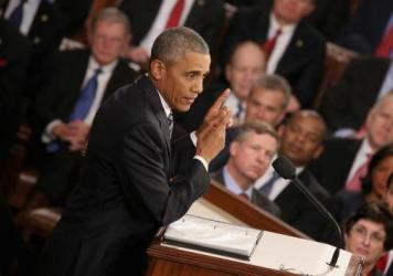 President Obama delivers his final State of the Union address before members of Congress.