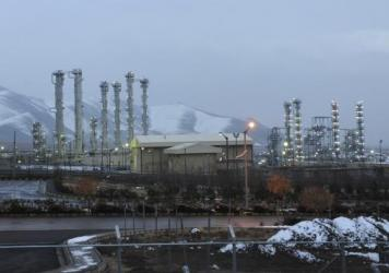 This 2011 photo shows the heavy water nuclear facility near Arak. International sanctions relief will be triggered when Iran follows through on commitments to reduce its nuclear program.