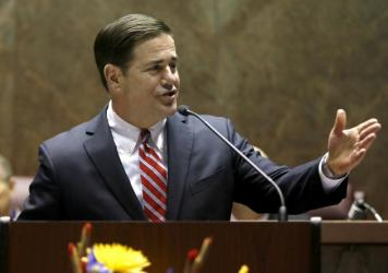 In his State of the State address on Monday, Arizona Gov. Doug Ducey announced his plan to create a task force to tackle the state's rape kit backlog.
