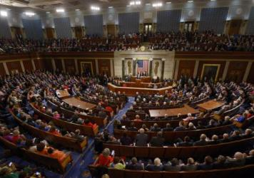 """President Obama delivers his final State of the Union address last week at the Capitol. He said one of the regrets of his presidency was that the """"rancor and suspicion between the parties has gotten worse."""""""