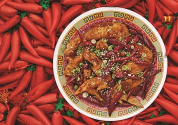 "Danny Bowien says Szechuanese cuisine is ""really about balance and restraint and not having things be over-the-top spicy."" Bowien's Chongqing Chicken Wings, featured in <em>The Mission Chinese Cookbook, </em>are pictured above."