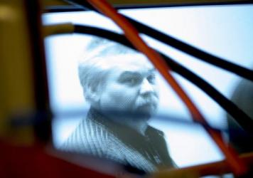 Steven Avery in the Netflix series <em>Making A Murderer.</em>
