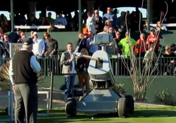 Launch Directional Robot Intelligent Circuitry — aka LDRIC — made a hole-in-one this week at TPC Scottsdale.