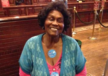 Ruby Duncan is a Hillary Clinton supporter, and says younger women don't understand earlier struggles.