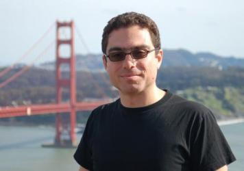 Iranian-American businessman Siamak Namazi, shown here in a snapshot at California's Golden Gate Bridge, was arrested by Iranian authorities in October.