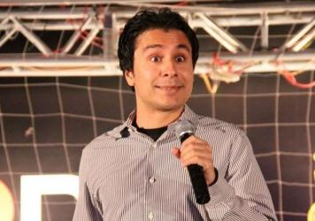 "Pakistani stand-up comedy pioneer Saad Haroon tests cultural sensitivities between his native country and India in his material.  ""When it comes to satire, I think as a culture, we kind of struggle with it,"" he says."