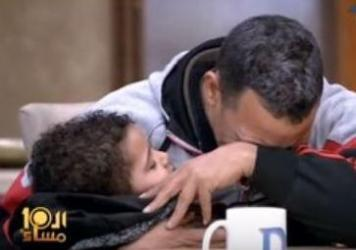 Cherubic youngster Ahmed Mansour Qurany and his father, identified as Mansour Qurany Ahmed, appeared on the Egyptian talk show <em>Al-Ashara Masa'an</em> on Saturday.