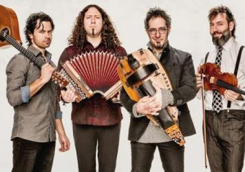 Le Vent du Nord is one of the bands featured on this episode of <em>The Thistle & Shamrock</em>.