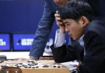 Google's Go-playing software defeated a human champion.