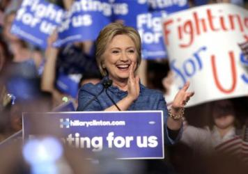Democrat Hillary Clinton has gotten more votes of any single candidate, including Donald Trump, though Trump has faced a much wider field.