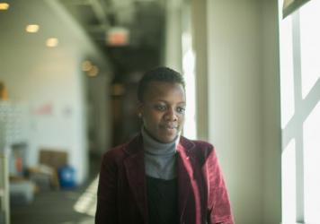 On her first visit to the U.S., Loyce Maturu of Zimbabwe was impressed by how friendly Americans. She couldn't get over that they'll say hello to a stranger in an elevator.