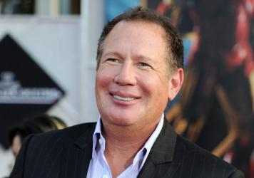 Actor Garry Shandling arrives at the world premiere of Paramount Pictures and Marvel Entertainment's <em>Iron Man 2</em> in Hollywood in 2010.