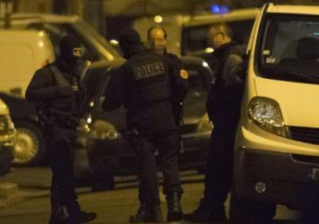 Law enforcement descended on Argenteuil, northwest of Paris, where a suspect allegedly was planning a major terrorist attack on France. He was arrested Thursday.