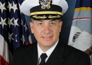 "Capt. Daniel Dusek, 49, shown in an undated photo <a href=""http://www.public.navy.mil/surfor/lhd2/Pages/Bio2_april2012_relieved.aspx#.VvbIXuIrKUk"">provided by the Navy</a>, is the highest-ranking officer to face charges so far in a Navy corruption scandal. Dusek served as the deputy director of operations for the 7th Fleet and commanded two ships, the Essex and the Bonhomme Richard."