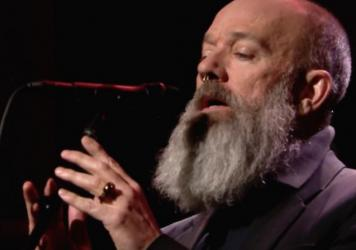 "Michael Stipe performs ""The Man Who Sold The World"" on <em>The Tonight Show</em>"