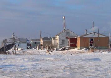 The isolated Cree community of Attawapiskat — shown several years ago, in a photo by the <em>Toronto Star</em> — struggled all winter with a high rate of suicide attempts.