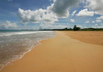 "A view of the beach known as ""La Selva,"" part of the Northeast Ecological Corridor reserve, in Luquillo, Puerto Rico."