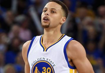 Stephen Curry's jersey is patch-free, but NBA players soon will sport corporate sponsorship logos on the front of their jerseys, near the shoulder.