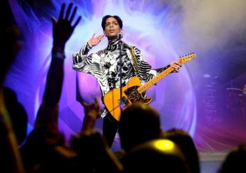 Prince performs at NOKIA Theatre on March 28, 2009 in Los Angeles, California.