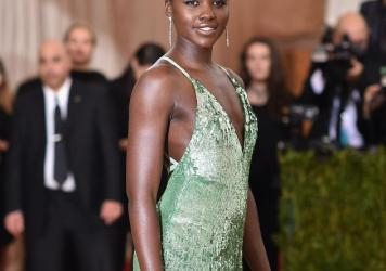 "Lupita Nyong'o's hair at the Met Gala made headlines. The theme of the ball was ""Manus x Machina: Fashion In An Age Of Technology."""