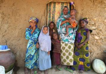 """In Nigeria, moms teach their children to address older women as """"Ma"""" or """"Auntie"""" as a sign of respect."""