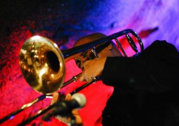 Trombonist and composer Reginald Cyntje was born in Dominica and raised in the U.S. Virgin Islands on a diet of reggae, calypso, classical and jazz.