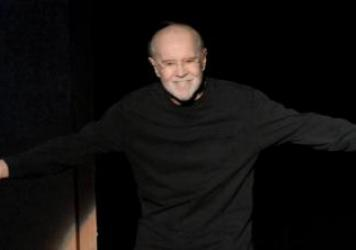 Comedian George Carlin appears at Wheeler Opera House in Aspen, Colo., in 2007 during HBO's 13th Annual U.S. Comedy Arts Festival.