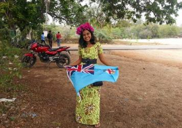 Betty Barkha is an eco-activist from Fiji.