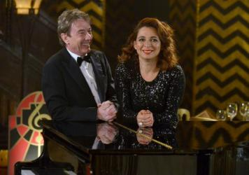 Martin Short and Maya Rudolph kicked off their variety show <em>Maya & Marty </em>on Tuesday night.