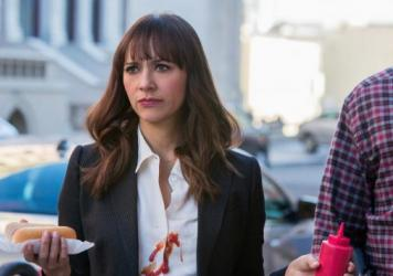 Rashida Jones in <em>Angie Tribeca</em>.