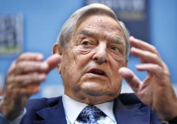 """George Soros, founder and chairman of Soros Fund Management, speaks during the 2011 forum """"Charting A New Growth Path for the Euro Zone"""" in Washington, D.C. Soros now appears concerned that the global economy's path looks shaky."""