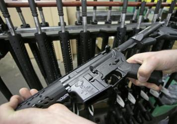 The AR-15 rifle has been used in some recent mass shootings.