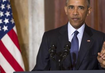 """President Obama took on his critics Tuesday, saying of the """"radical Islam"""" term, """"What exactly would using this label accomplish? What exactly would it change? Would it make ISIS less committed to trying to kill Americans? Would it bring in more allies?"""""""
