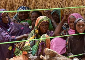 The Assaga camp in Niger is home to some 6,000 refugees, either displaced within the country or from across the river in Nigeria.