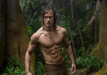 """Tarzan serve Blue Steel! Want tell you about Tarzan's paleo regimen!"": Alexander Skarsgard in <em>The Legend of Tarzan</em>."