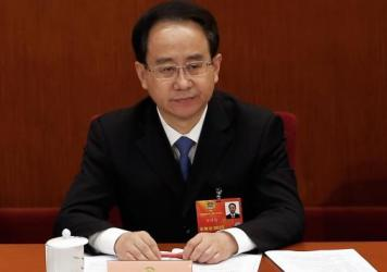 Former Secretary of the Central Secretariat of the Communist Party of China Ling Jihua, seen here in 2013, was found guilty of accepting bribes and allowing his wife and son to benefit from corruption.