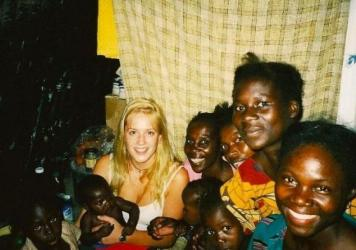 When she was 18, British actress Louise Linton spent her gap year in Zambia. It's the subject of a controversial new memoir,<em> In Congo's Shadow</em>.